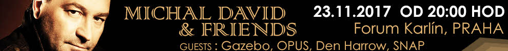 MICHAL DAVID & FRIENDS 2017 NA TICKETPORTAL.CZ
